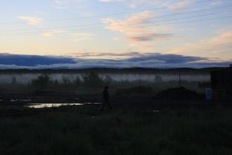 поселок Потапово Таймыр Potapovo Taymyr region