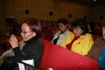 Общественные слушания по поводу строительства Эвенкийской ГЭС. Тура, июль 2008 г. Публика