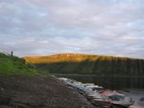 Лодки в устье Кочечума