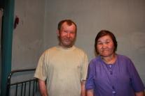 Наша эвенкийская информантка Батурина Зинаида Прокопьевна: с мужем