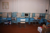Компьютерный класс  в тутончанской средней школе