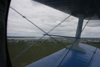 Каргасок под крылом самолета