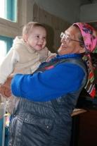 Надежда Леонидовна Гаянчук с внуком
