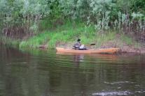 Путешествие лодки на катере