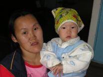 Ульяна Алексеевна Удыгир с дочерью