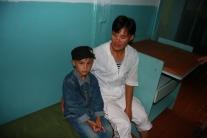 Наталья Васильевна Хирогир с сыном