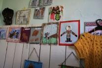 Выставка детских рисунков  в клубе Напаса