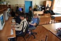 Компьютерный класс Напасской средней школы