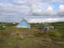 Стойбище Сайготиных на Большом Советском озере