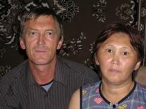 Клара Ивановна Давиндук и ее муж Михаил Владимирович Кондратьев