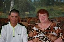 Василий Васильевич Арбалдаев с женой Ниной Дмитриевной