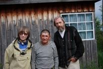 Василий Васильевич Арбалдаев и работавшие с ним участниками экспедиции после окончания работы