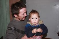 Иван Чокуров, заботливый отец