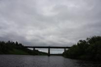 Железнодорожный мост через р. Маковку