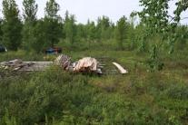 стойбище Мунгуй Красноселькупский район ЯНАО nomad camp Mungui Krasnoselkupsky district Yamal