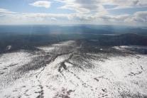 11 июня в горах ещё лежит снег