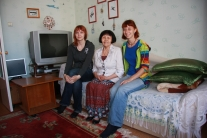 Саша и Женя у Августины Гордеевны