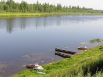 Лодки на Елогуе