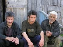 Петр Харлампьевич Бальдин с сыновьями