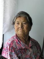 Ольга Васильевна Латикова, 1917 г.р., старейшая жительница Суломая, хранительница кетского языка и традиционной кетской культуры